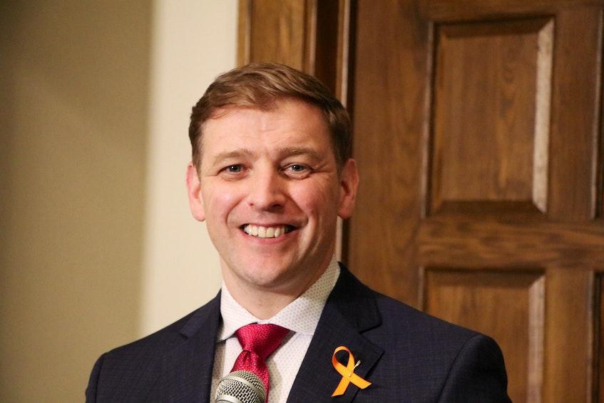 Premier Andrew Furey - Glen Whiffen