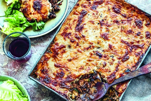 Meatless moussaka from Rustica.