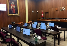 A Nova Scotia Court of Appeal courtroom at the Halifax Law Courts is shown in this September 2019 photo.
