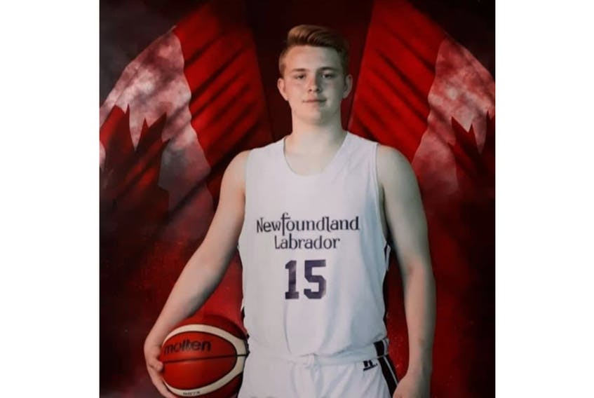 St. John's product Chris Druken will play basketball for the Holland College Hurricanes in the fall. - Contributed