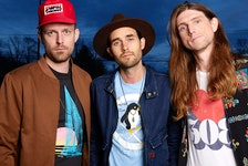 The East Pointers (Jake Charron, left, Tim Chaisson and Koady Chaisson) will perform at this year's Rock the Boat Music Festival in Tyne Valley.