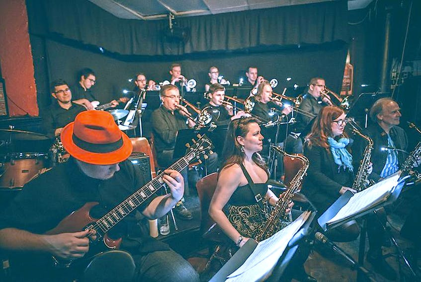 On Saturday, Jazz East Big Band will take tothe stage at the Arts and Culture Centre in St. John's for the first time in their nearly quarter-of-a-century history. — Facebook/Jazz East Big Band