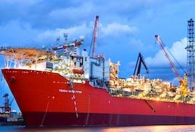 The Terra Nova FPSO, shown in this file photo, hasn't produced oil since late 2019. — Suncor Energy photo