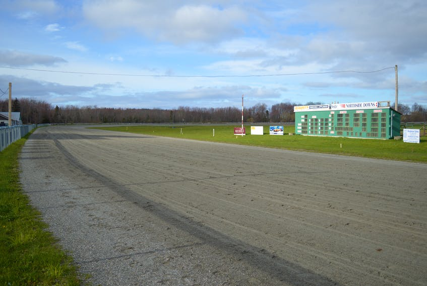 Horses may not be on the track in this file photo from Northside Downs, but that will change this weekend. The 2021 harness racing season will begin Saturday at the North Sydney venue, but no spectators will be permitted on the grounds due to current COVID-19 provincial restrictions. JEREMY FRASER • CAPE BRETON POST