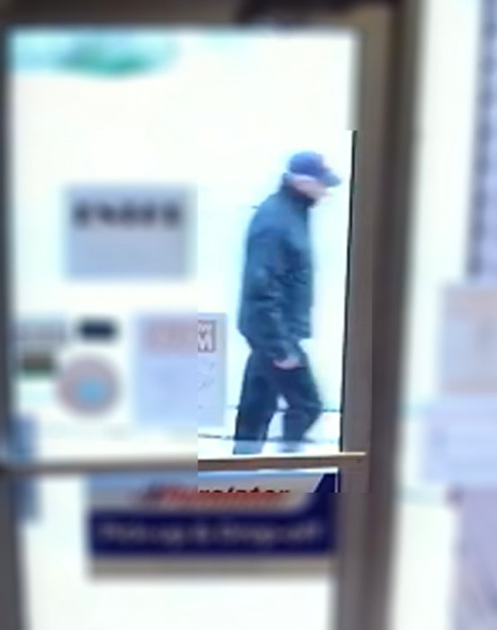 This still image from a video camera outside a Broadway store in Corner Brook puts missing man Stewart Taylor in the area just before 6 a.m. on June 7.