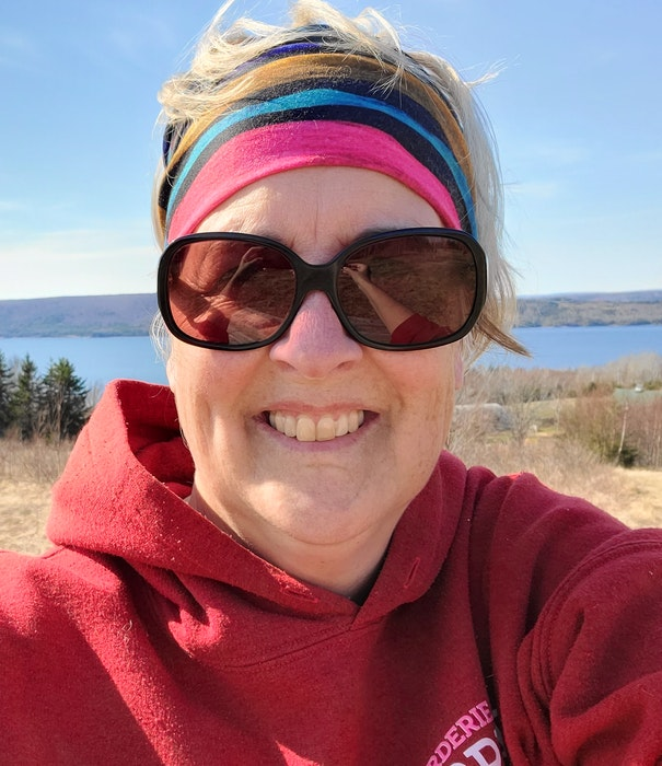 """""""I used a lot of our household money to support the B&B,"""" says Terri Shobbrook, owner and operator of the Seaweed and Sod B&B in Kempt Head, Victoria County. CAPE BRETON POST"""