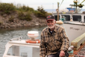 David Taylor of Black Rock is known for navigating the Bay of Fundy waters in his recreational fishing vessel dubbed The Mermaid. He's also the creator of the handcrafted sea monster that has bobbed about in the Fundy's tides near his home for well over a decade. - Geralyn Howell
