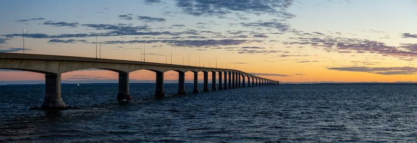 Confederation Bridge connecting Nova Scotia to P.E.I. - SaltWire network