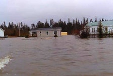 Residents of Mud Lake are suing Nalcor over flooding in the town in 2017, claiming the Muskrat Falls dam changed the ice flow on the river, causing the flooding. The province just had itself successfully removed from the lawsuit.