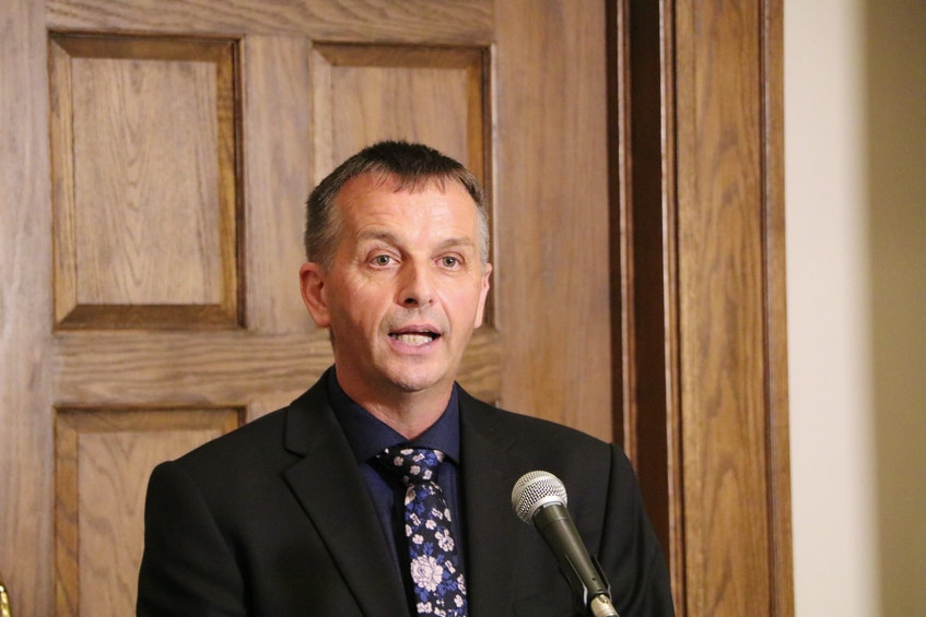 Derrick Bragg, Minister of Fisheries, Forestry and Agriculture. — Glen Whiffen/The Telegram