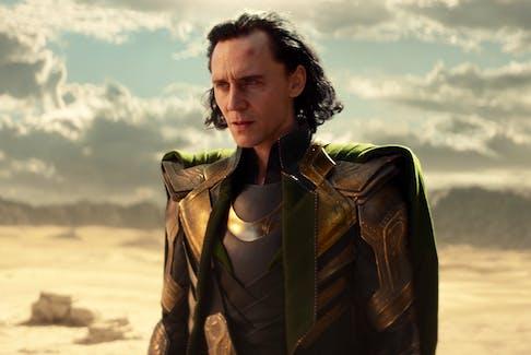 Loki (Tom Hiddleston) is glorious in the latest Disney+ flagship show set in the Marvel universe. - Disney