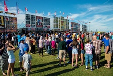 Endless lineups and plenty of heat — Sydney Ribfest was a signature event for several summers in Cape Breton. However, the popular event has been cancelled for the second year in a row due to the COVID-19 pandemic. This is a photo from the 2017 event. CAPE BRETON POST