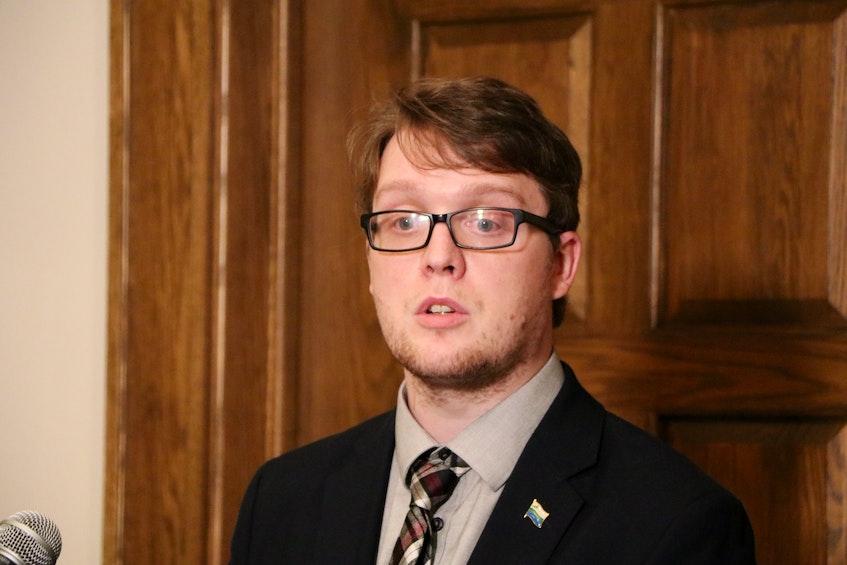 Jordan Brown, NDP MHA for Labrador West - Glen Whiffen