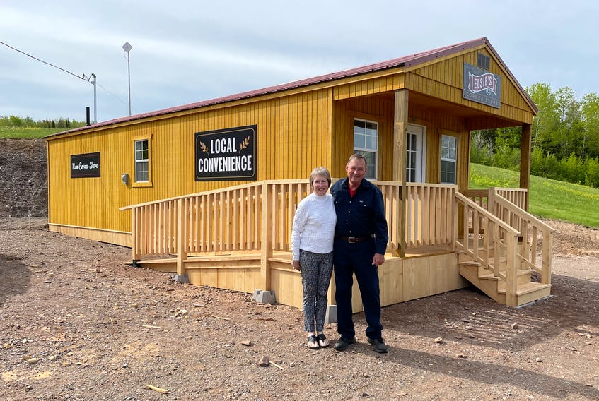 Sherril and Pierre Benoit are proud owners of Elsie's 2.0 Corner Store on the Kennedy Hill Road in Central New Annan.