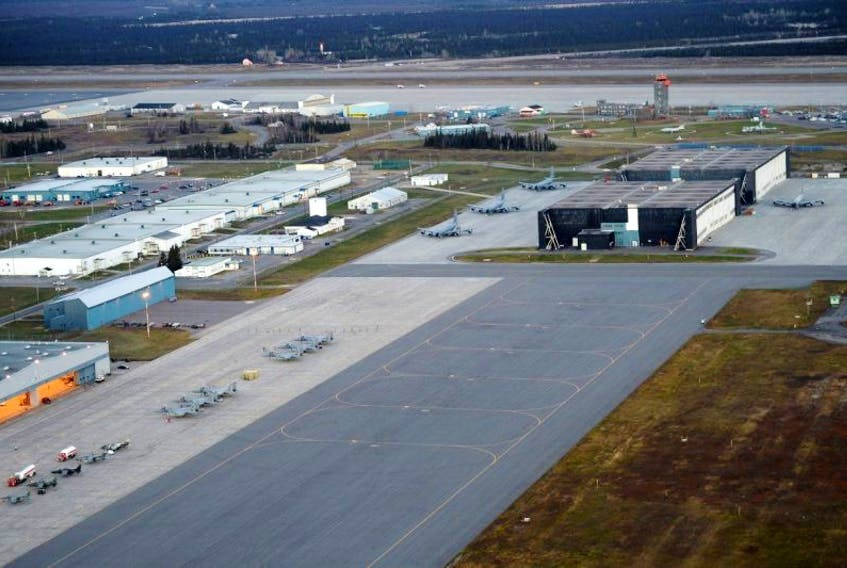 Workers at CFB Goose Bay in central Labrador are worried about job cuts. They're organizing a rally to show support for workers at the gates of the base on Friday at noon.
