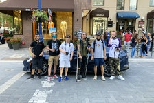 The Yorkville Car Spotters club, a Toronto group of young and enthusiastic exotic-car photographers. David Booth/Postmedia News
