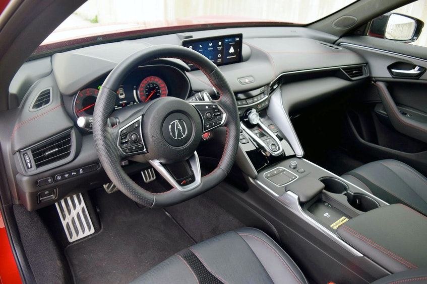 The styling and ride quality in the new TLX are definitely its strong points. Postmedia News - POSTMEDIA