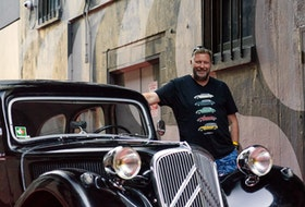 John Anthony MacGregor's Citroën Traction Avant, which he has named Paris. Brendan McAleer/Postmedia News