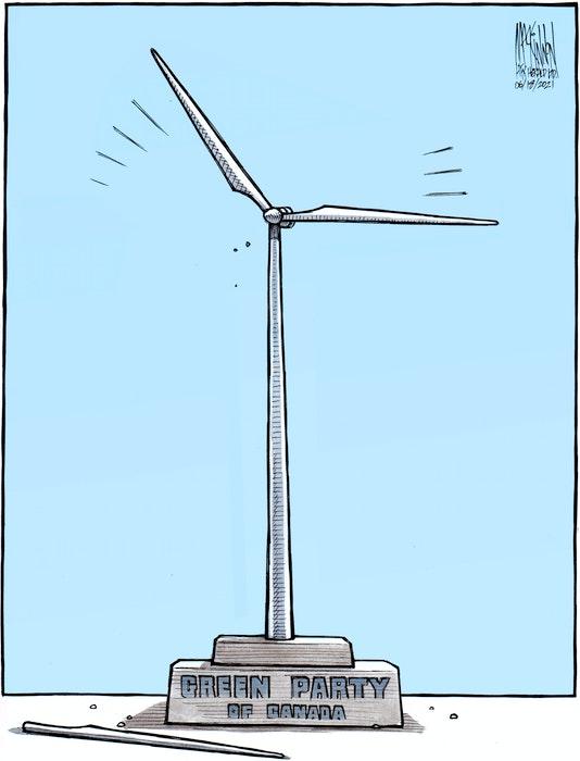 Bruce MacKinnon's cartoon for June 18, 2021. - Bruce MacKinnon