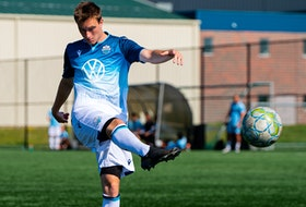 HFX Wanderers midfielder Scott Firth of Windsor Junction is ready to take on an elevated role in his third season with the Canadian Premier League club. - Dylan Lawrence / HFX Wanderers