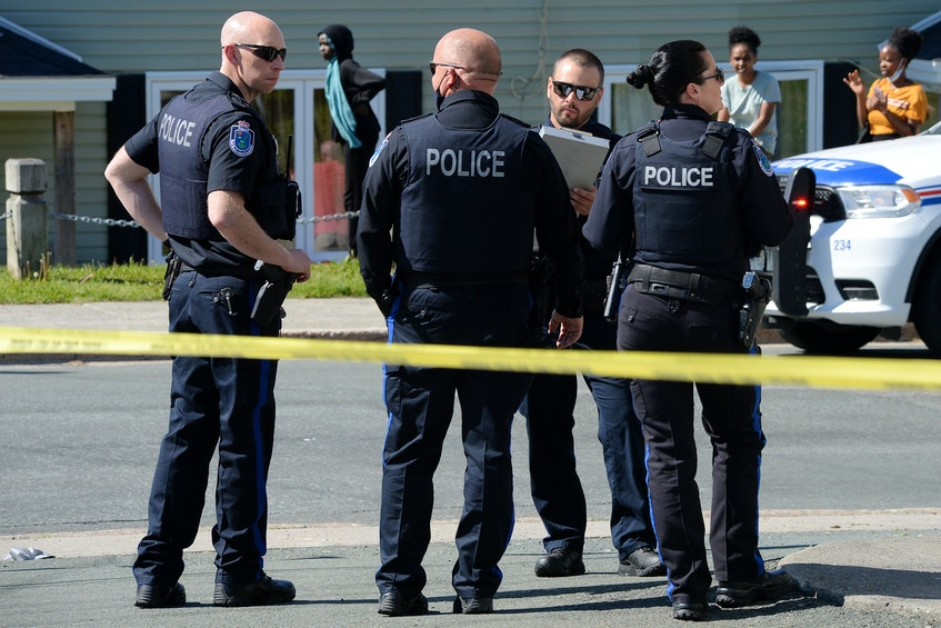 The RNC is investigating a serious hit-and-run motor-vehicle/pedestrian collision in St. John's Friday afternoon. Keith Gosse/The Telegram - Keith Gosse