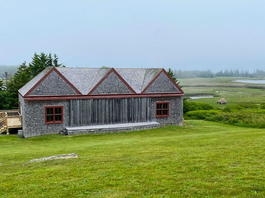 Theatre at Le Village historique acadien de la Nouvelle-Écosse. - Carla Allen