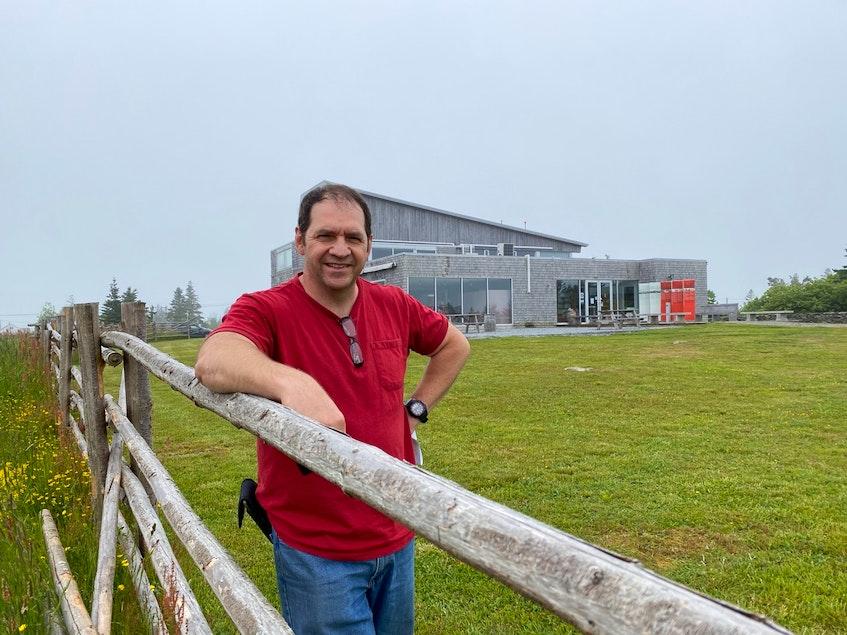 Roland D'Eon, executive director of  Le Village Historique Acadien de la Nouvelle-Écosse. CARLA ALLEN • TRICOUNTY VANGUARD - Carla Allen