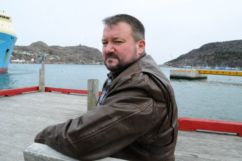 Greg Parsons of St. John's virtually attended another parole board hearing Friday for Brian Doyle, who murdered Parsons' mother in 1991. Telegram file photo