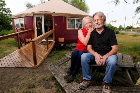Jodie Bowen and her husband Jim have reopened The Heart of the Valley Gift Shop in Dunrobin, two and a half years after a tornado swept the old store away.