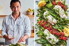 Chef Theo A. Michaels specializes in rustic cooking inspired by his Greek Cypriot upbringing.