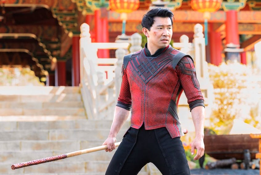 Actor Simu Liu in a scene from the upcoming Marvel Studios film Shang-Chi and the Legend of the Ten Rings. Courtesy, Walt Disney Studios Motion Pictures Canada.