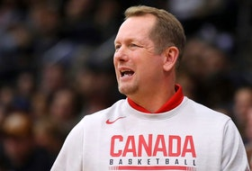 Canadian men's basketball team head coach Nick Nurse.