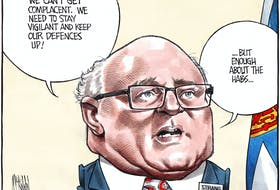 Bruce MacKinnon's editorial cartoon for June 3, 2021.