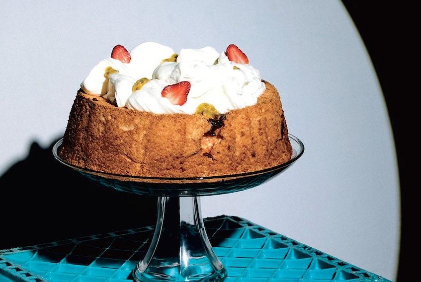 Angel food cake from Jam Bake.