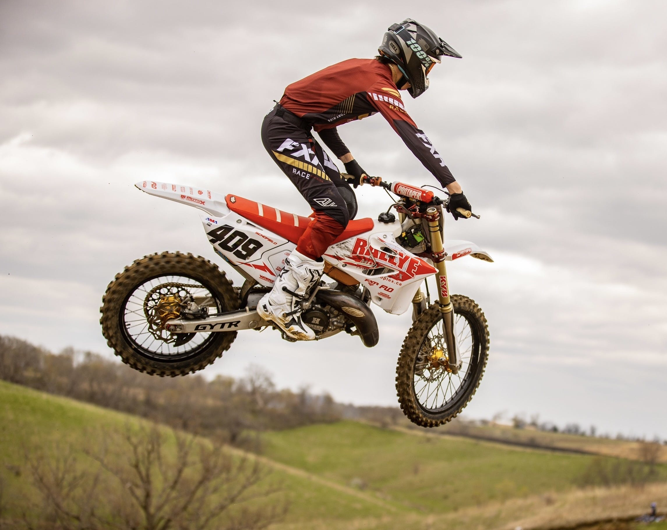 Fifteen-year-old motocross rider Brennan Schofield of Falmouth is vying to become the first Nova Scotian to compete at the annual Monster Energy AMA national championship, the largest amateur motocross event in North America. - Reed Photography