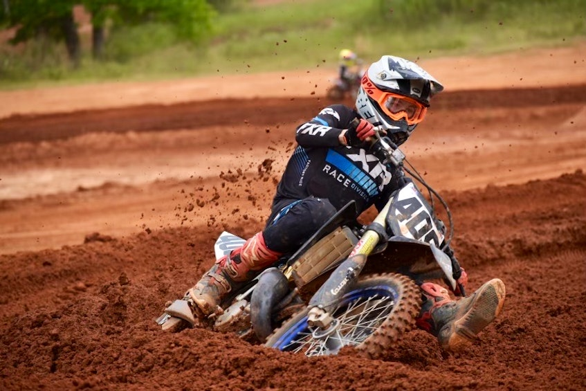 Brennan Schofield will have two chances this month to qualify for the national amateur motocross championship at Loretta Lynn's ranch in August. - PhotoguyTy