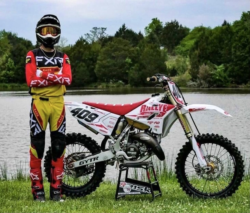 Fifteen-year-old Brennan Schofield of Falmouth has had a successful 2021 motocross season in the U.S. - Reed Photography