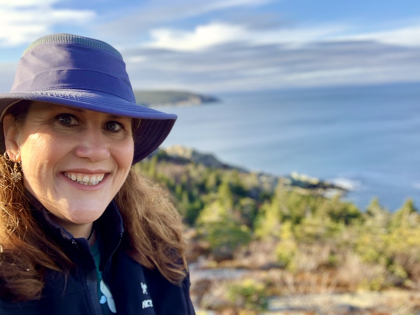 Barb Parsons-Sooley is the owner and operator of Wind At Your Back Guided Adventures. She is a big proponent of the benefits of hiking. Here she is on the D'Iberville Trail in Trinity Bay South. - Saltwire network