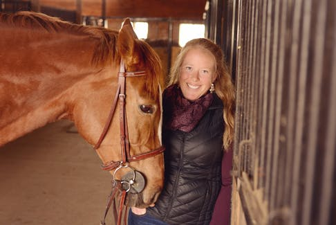 Alissa Cue owns and operates Rohan Wood Stables in Aylesford.