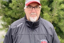 Jim (Fred) Head of New Waterford was given the 2021 Hockey Nova Scotia Award of Merit. The award is presented annually to an individual who has served hockey faithfully and made a significant contribution to the game. JEREMY FRASER/CAPE BRETON POST.