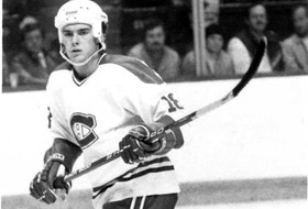 Defenceman Tom Kurvers was part of the Canadiens' Stanley Cup team in 1986 before being traded to the Buffalo Sabres the next season.