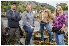 """The crew at Newfound Builders in Brigus have had the second season of their show """"Rock Solid Builds"""" picked up by HGTV Canada. Photo courtesy HGTV Canada"""