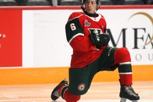 The Halifax Mooseheads drafted centre Markus Vidicek 14th overall last year. - Tim Krochak