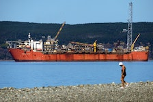 The Terra Nova floating production, storage and offloading vessel in Conception Bay. Telegram file photo