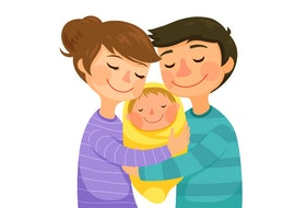 Raising a child together is worth your best efforts to be positive, confident and support each other.