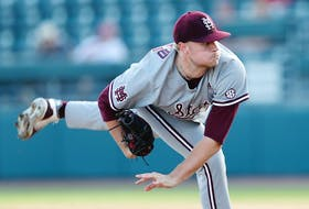 Christian MacLeod, son of former Sydney resident Kevin MacLeod, will be on the mount of Mississippi State in the club's game against Virginia at TD Ameritrade Park in Omaha, NEB.
