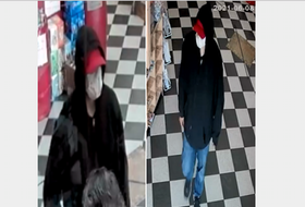 The RCMP are looking for a suspect from a June 8 armed robbery of a Yarmouth business. RCMP PHOTOS