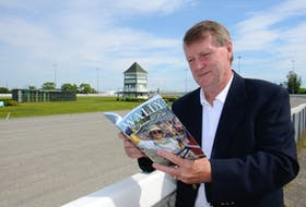 Gary MacDougall is the author of Wally Driven to Win, a book about harness racing driver Wally Hennessey, which will be launched Wednesday, June 23, in Charlottetown.