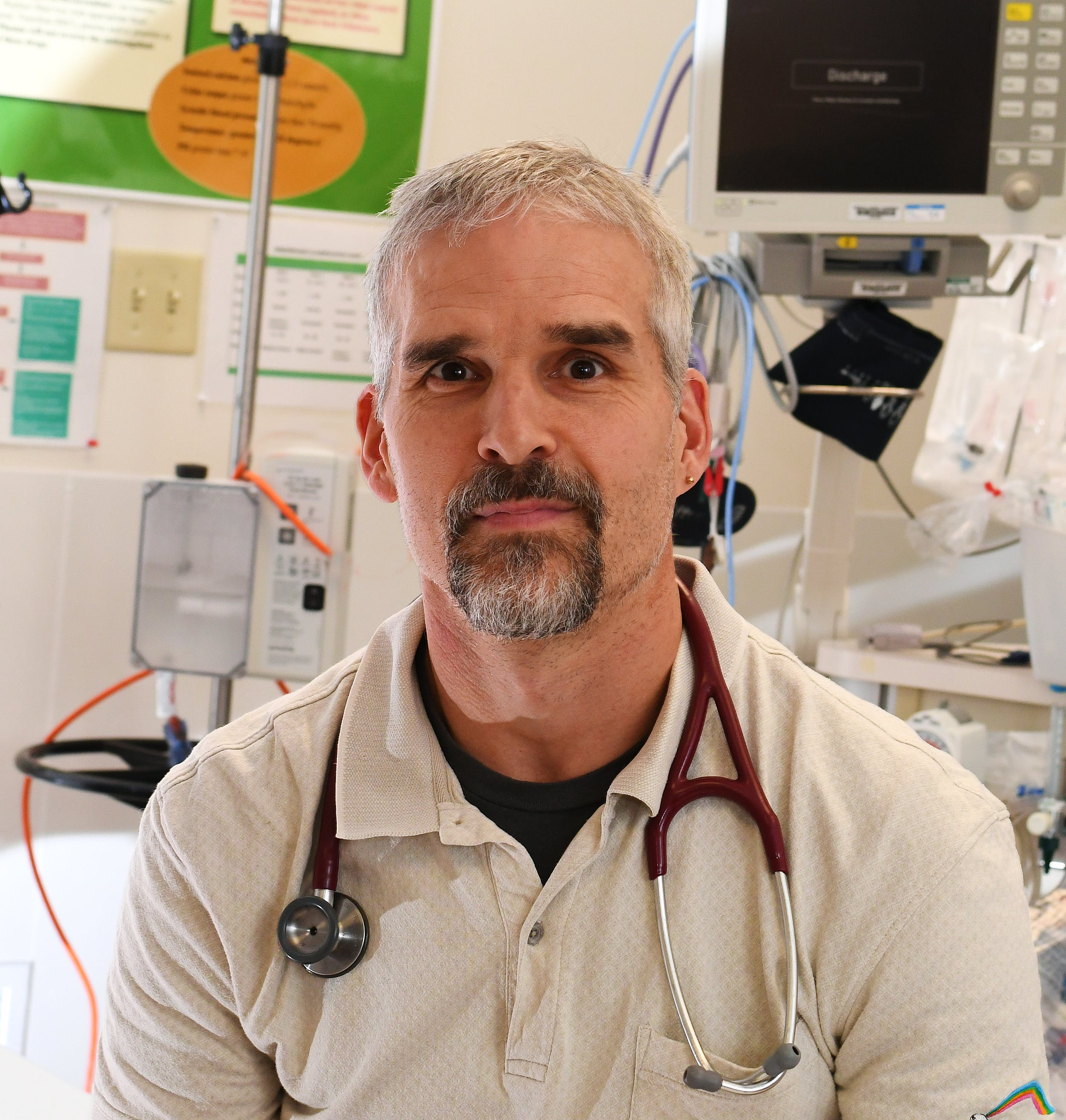 """""""My job is to inform patients and let them make a choice based on what we know,"""" says Dr. Chris Milburn. — CONTRIBUTED"""