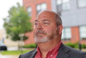Headshot of Sgt. Dean Steinburg, President of the Halifax Regional Police Association. For story about melee at the police headquarters, by Stephen Cooke.